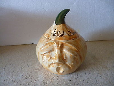 Vintage Toni Raymond Pickled Onion Pot Made In England