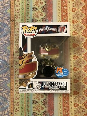 Funko Pop Power Rangers Lord Drakkon PX Previews Exclusive 30k pcs