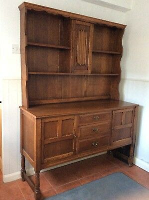 Antique Oak Welsh Dresser Large