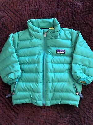 patagonia baby down sweater 6m Green
