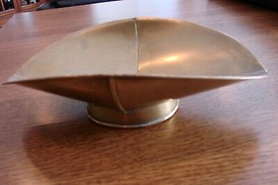 """Antique Brass Scale Pan Tray Scoop Vintage Candy Scales 7"""" X 11"""""""