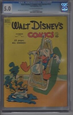Walt Disney's Comics And Stories #123 CGC 5.0