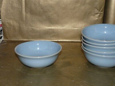 "denby blue dawn cereal / soup bowl 6.5"" diameter"