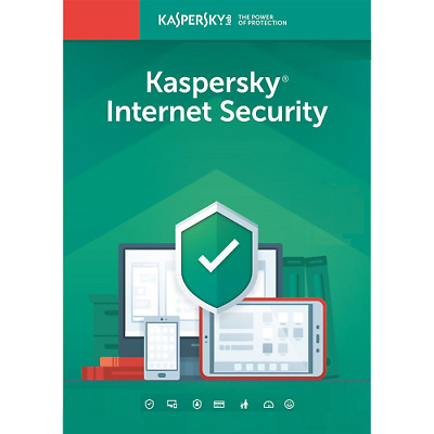 Kaspersky Internet Security 2019 1 Year 1 Device Global Key Install New / Renew