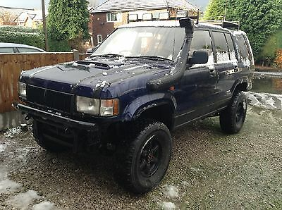 Izuzu Trooper 3.1 Bighorn off Road beast 4x4 snow old skool off roader