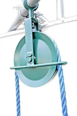 Scaffolding Gin Wheel 250KG Safe Working Load Building Roofing Pulley Block