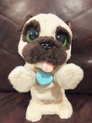 Used Working Furreal Friends Jj My Jumping Pug Hasbro Interactive
