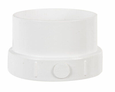 "Plastic Trends Clean-Out Adapter Spigot X Fpt 4 "" Pvc"