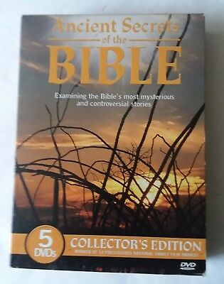 Ancient Secrets of the Bible 5 DVD's Collector's Edition 2005