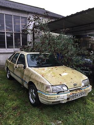 Ford Sierra XR 4x4 1990 low mileage future classic barn find restoration project