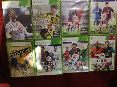 FIFA 18 Legacy Edition Xbox 360 - including FIFA 12 to 17 & Street3