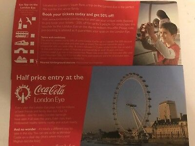 Half Price Entry Discount Coca Cola London Eye