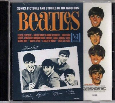 Songs,Pictures,and Stories of The Fabulous Beatles CD in STEREO
