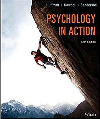 Psychology in Action 12th edition by Karen Huffman (EBOOK)