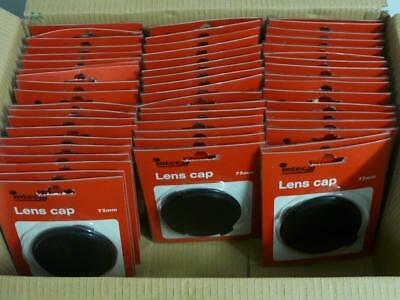53x Lot 72mm Snap On Pinch Clip Plastic Lens Front Cap Fits Canon Olympus Pentax