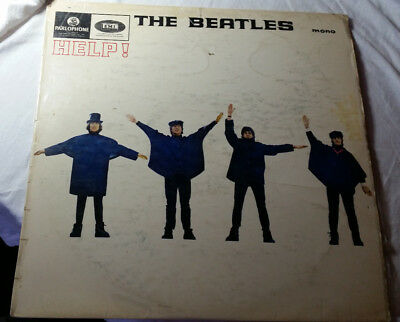 The Beatles Help Vinyl Mono South African Pressing