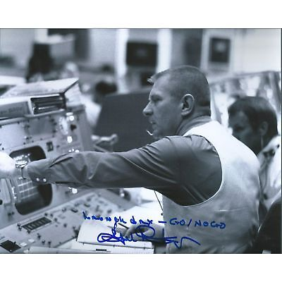 Eugene Kranz Apollo 13, NASA Signed 8x10 Photo