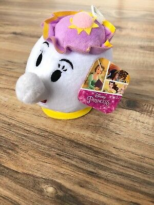 "Disney Beauty and the Beast Mrs. Potts Plush, 5"", new with tags, Just Play"
