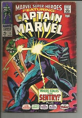 Marvel Super Heroes #13 1st appearance of Carol Danvers