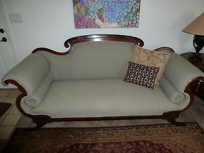 Mid 1800's Antique sofa, American Empire, from Tennessee, excellent!
