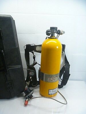 EMERGENCY AIR BREATHING FIRE FIGHTER 2216PSI TANK AND REGULATOR isi ranger PREPP