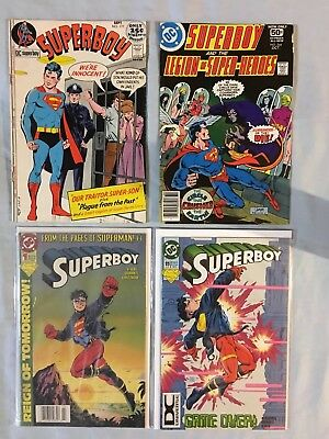 DC's Superboy 4 Issue Comic Book Lot
