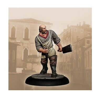 Carnevale miniature game Butcher metal new