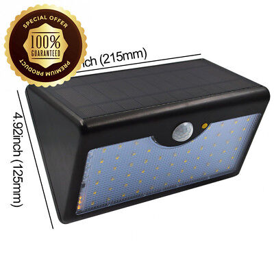 Garden Solar Security LED Lights - GreeSuit 60 Super Bright Wireless...