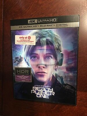 ready player one 4k +Blu-ray Lenticular Case And Exclusive Bonus Content