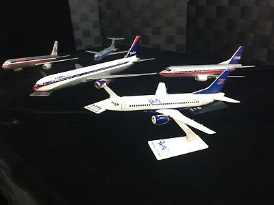 Delta United Eastern USAir American Airlines Boeing Model Jet Plane Airplane Lot