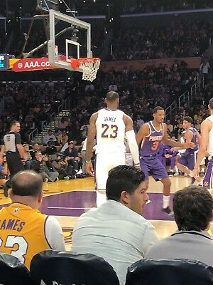 (2) LA LAKERS vs GOLDEN STATE WARRIORS Tickets *01/21/19* =SECTION 219, ROW 12==