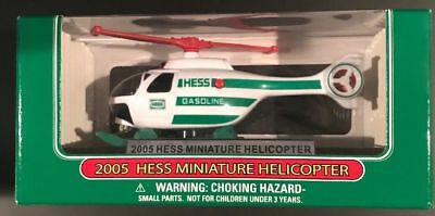 HESS TOY MINI TRUCK 2005 helicopter mint new mib