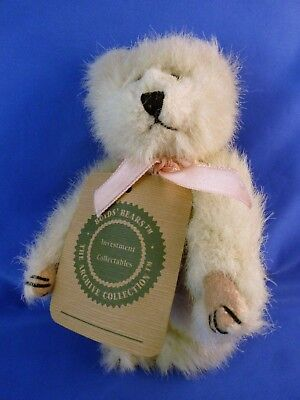 "Boyds' Bear Fully Jointe Champagne Blonde 8"" 1990"