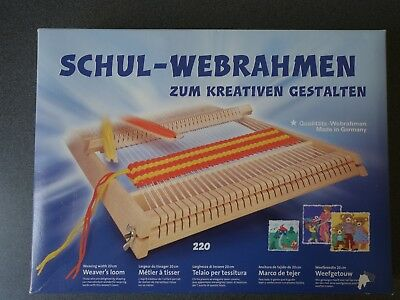SHUL-WEBRAHMEN Weaving Loom - Perfect Condition With All Pieces