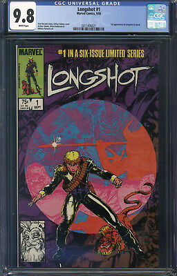 Longshot Limited Series #1 CGC 9.8 1st Longshot and Spiral!!! 1985