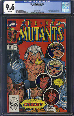 New Mutants #87 CGC 9.6 1st Cable!!!