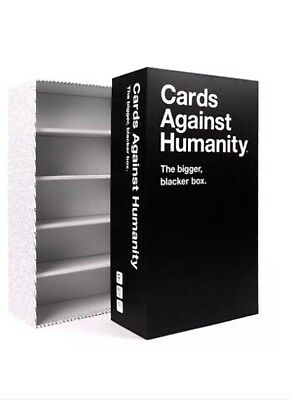 Cards Against Humanity New Bigger Blacker Box Storage Organizer CAH AUTHENTIC