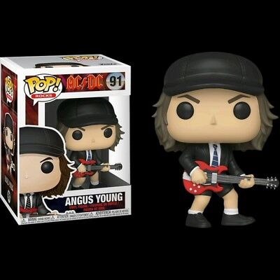 AC/DC - Angus Young #91- Funko Pop! Rocks Vinyl Figure - NEAR MINT 8.5/10