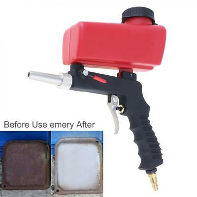 Pneumatic Sand Blasting Gun Small Hand Held Sandblasting Flow Adjustment Switch