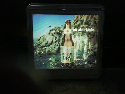 Michelob Dry Beer Motion Advertising Lighted Sign