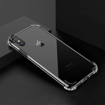 Hybrid Shockproof Clear TPU Hard Bumper Cover Case Fit For Phone