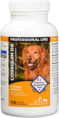 New Cosequin DS Maximum Strength Hip & Joint (110 Count)(Expires 10/2021)