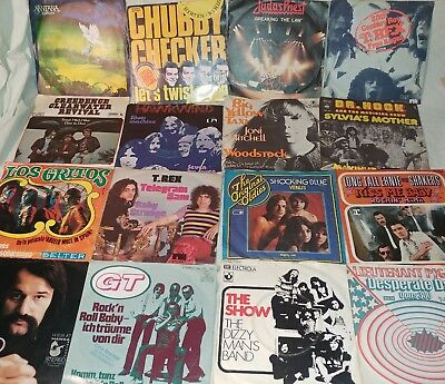 67 Single The Sweet-Judas Priest- Santana-Dr.Hook-Deep Purple-LAKE-The Beatles