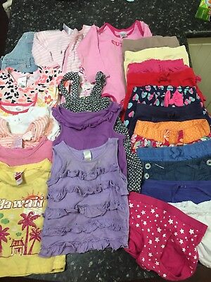 Girls Clothes size 0 Summer bundle Bulk lot