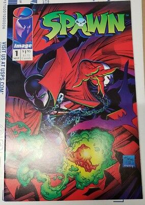 ***  SPAWN #1 (NM+ 9.6) 1st Appearance Todd McFarlane art ***