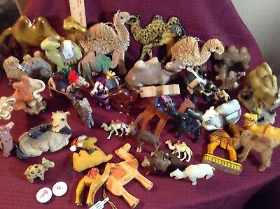 HUGE LOT of CAMELS...every shape and size!! Camel Collectors Look Here!!!