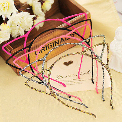 Cute Women Girls Headband Hair Band Party Gifts Cat Ears New Style 2019 Hot Sale