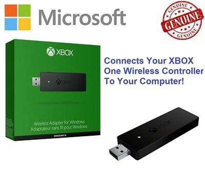 XBOX One Wireless Controller To Windows 10 PC Laptop Gaming USB Adapter Dongle