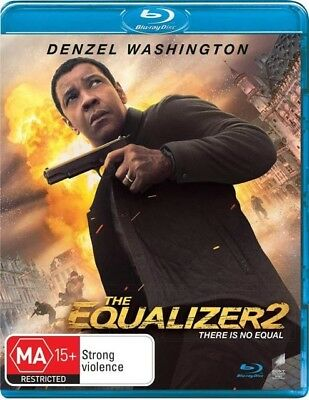 THE EQUALIZER 2 (Blu-ray, 2018) BRAND NEW & SEALED
