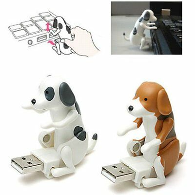 Funny Cute USB Pet Humping Spot Dog Toy Relief Stress Christmas Gift LOT BE